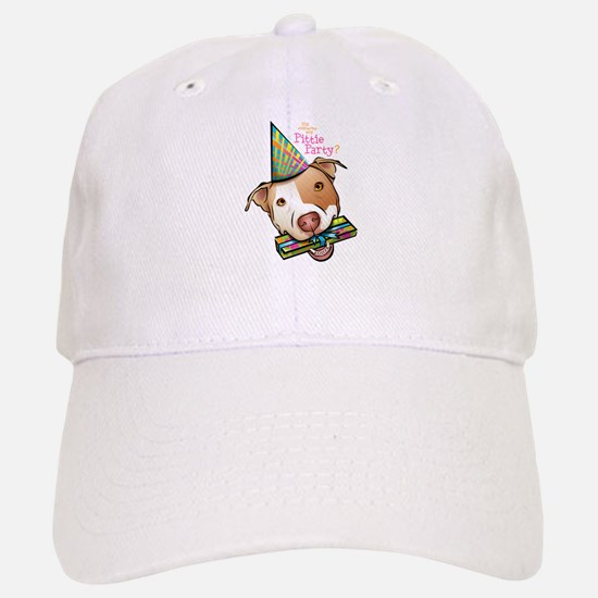 Pittie Party Baseball Baseball Cap