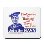 Join The Navy Mousepad