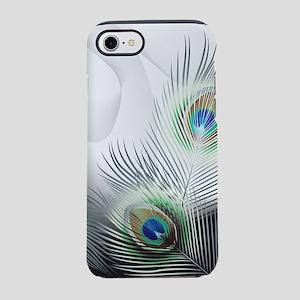 Peacock Feather Fantasy iPhone 7 Tough Case