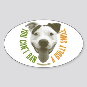 Bully Smile Oval Sticker