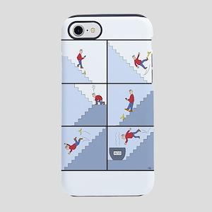 Guy falling down steps iPhone 7 Tough Case