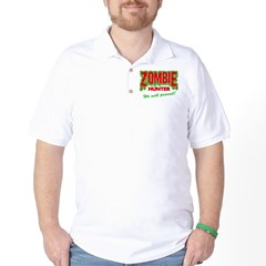Zombie Hunter Society Golf Shirt