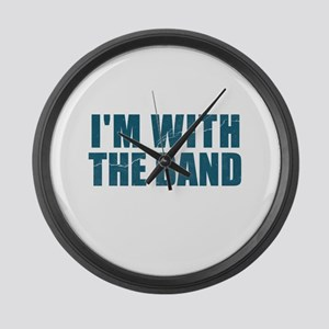 Im With the Band Large Wall Clock