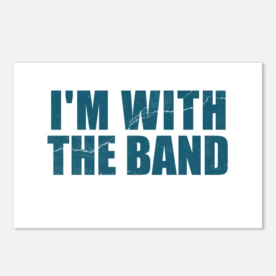 Im With the Band Postcards (Package of 8)