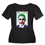 Obama - Why So Socialist? Women's Plus Size Scoop