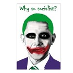 Obama - Why So Socialist? Postcards (Package of 8)
