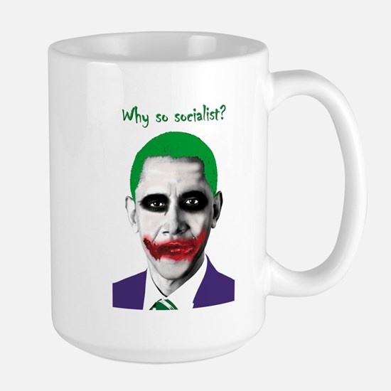Obama - Why So Socialist? Large Mug