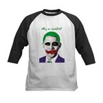 Obama - Why So Socialist? Kids Baseball Jersey