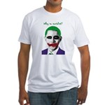 Obama - Why So Socialist? Fitted T-Shirt