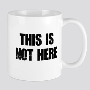 This is Not Here Lennon Mug