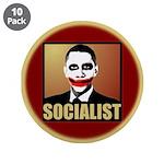 """Socialist Joker 3.5"""" Button (10 pack)"""