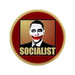 """Socialist Joker 3.5"""" Button"""
