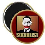 """Socialist Joker 2.25"""" Magnet (10 pack)"""