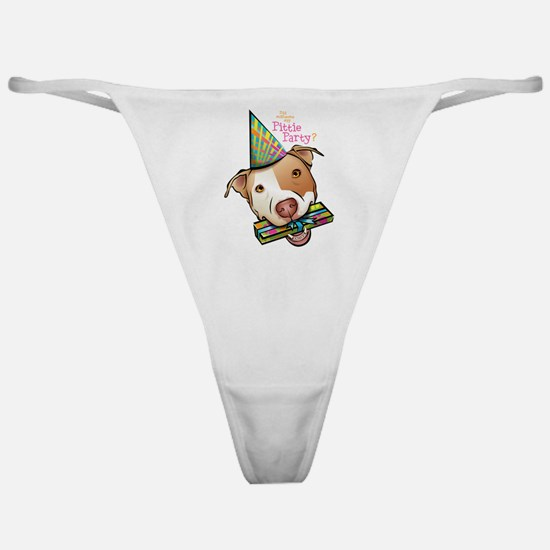 Pittie Party Classic Thong