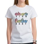Captioned SIGN BABY Women's T-Shirt