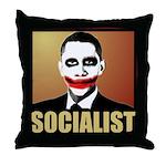 Socialist Joker Throw Pillow