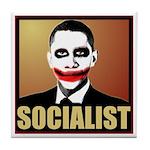 Socialist Joker Tile Coaster