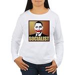 Socialist Joker Women's Long Sleeve T-Shirt