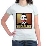 Socialist Joker Jr. Ringer T-Shirt