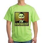 Socialist Joker Green T-Shirt