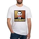 Socialist Joker Fitted T-Shirt
