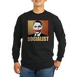 Socialist Joker Long Sleeve Dark T-Shirt
