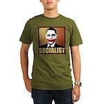 Socialist Joker Organic Men's T-Shirt (dark)
