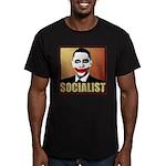 Socialist Joker Men's Fitted T-Shirt (dark)