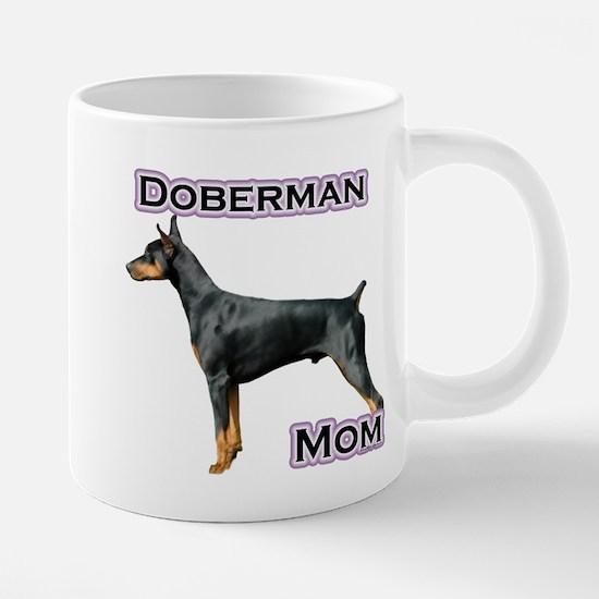 DobermanblackMom4.png 20 oz Ceramic Mega Mug