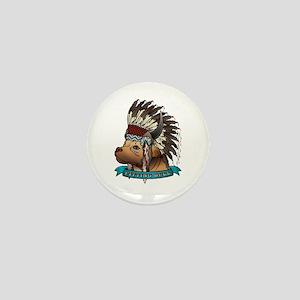 Pitting Bull Mini Button