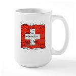 Swiss Cantons Flag Large Mug