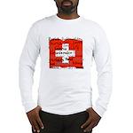 Swiss Cantons Flag Long Sleeve T-Shirt