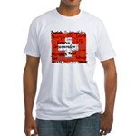 Swiss Cantons Flag Fitted T-Shirt