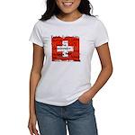 Swiss Cantons Flag Women's T-Shirt