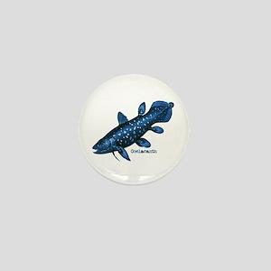 Coelacanth Mini Button