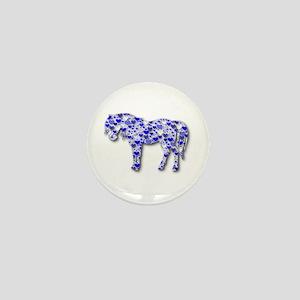 My Heart Horse Mini Button