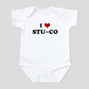 I Love STU-CO Infant Bodysuit