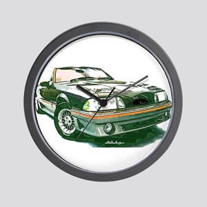 Mustang 87-93 RWB5spd Wall Clock