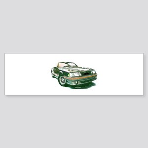Mustang 87-93 RWB5spd Bumper Sticker