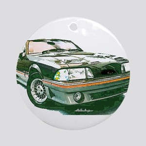 Mustang 87-93 RWB5spd Ornament (Round)