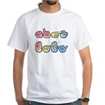 Pastel SIGN BABY White T-Shirt