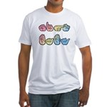 Pastel SIGN BABY Fitted T-Shirt