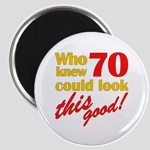 Funny 70th Birthday Gag Gifts Magnet