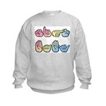 Pastel SIGN BABY Kids Sweatshirt