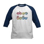 Pastel SIGN BABY Kids Baseball Jersey