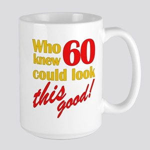 Funny 60th Birthday Gag Gifts Large Mug