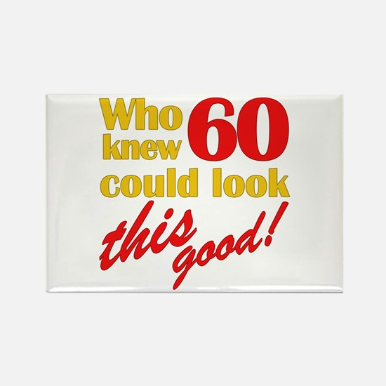 Funny 60th Birthday Gag Gifts Rectangle Magnet