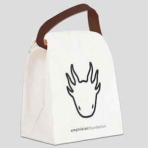 Amphibian Foundation Logo Canvas Lunch Bag