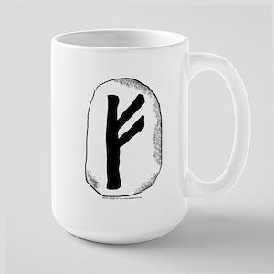 Viking Rune Fehu Large Mug