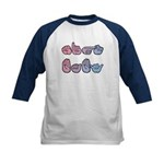 PinkBlue SIGN BABY Kids Baseball Jersey